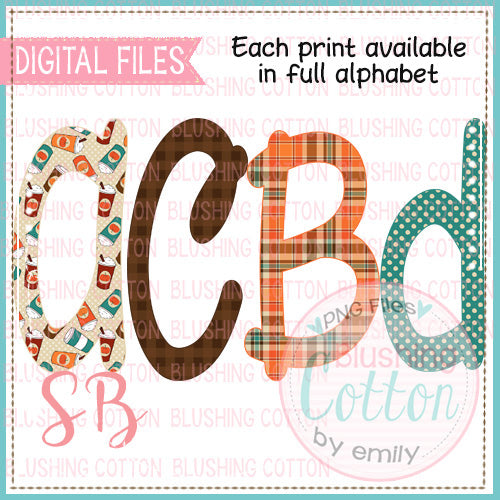 PUMPKIN SPICE LATTE  ALPHA BUNDLE BCSB