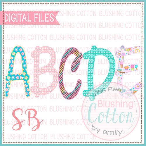 SWEET HEARTS ALPHA BUNDLE BCSB