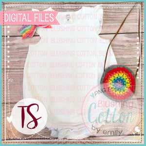 ARB WHITE CAP SLEEVE BUBBLE WITH FIESTA ACCENTS FLAT LAY LAYOUT BCTS