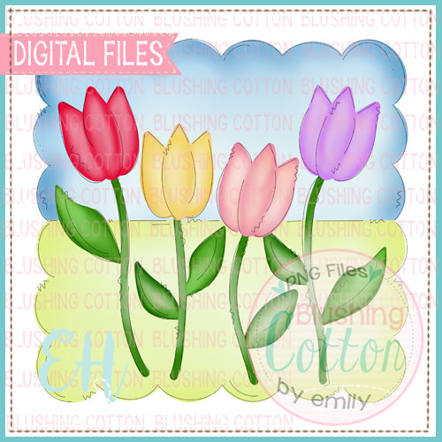 SPRINGY TULIPS DESIGN   BCEH