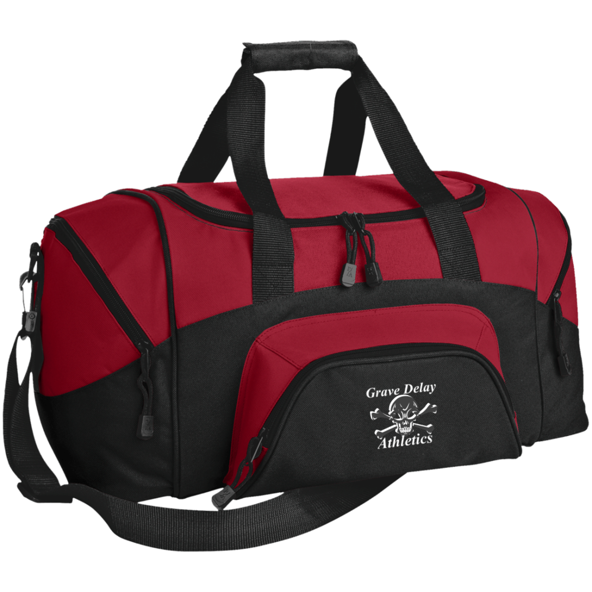 Small Colorblock Sport and Gym Duffel Bag