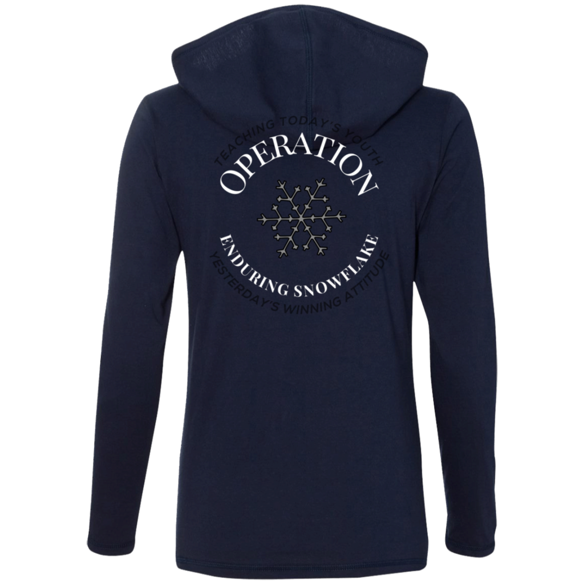 Operation Enduring Snowflake - Ladies' LS T-Shirt Hoodie