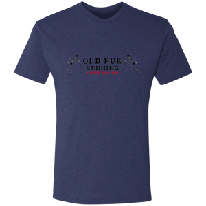 Old F*k Running - Never Too Old - Men's Triblend T-Shirt