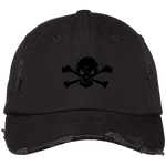 Skull & Crossbones Distressed Dad Cap