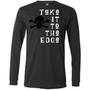 Take it to the Edge- Men's Jersey LS T-Shirt