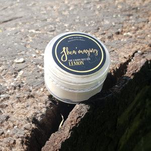 Shea'mazing - Soft Lemon Body Butter - 30ml (Mini)