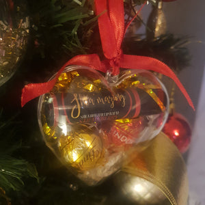 Shea'mazing Xmas Gift Heart Bauble