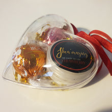 Load image into Gallery viewer, Shea'mazing Xmas Gift Heart Bauble