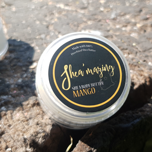 Shea'mazing - Soft Mango Body Butter - 30ml (Mini)