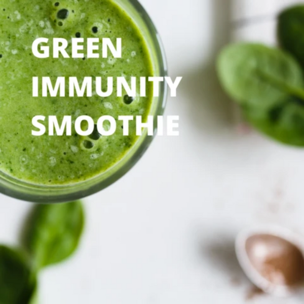 Spirulina & Chlorella Green Immunity Smoothie