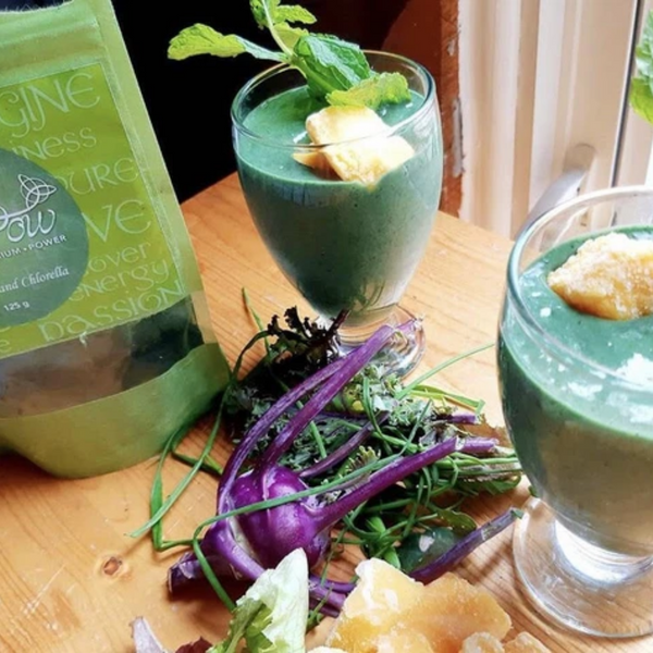 Mango Mint Green Smoothie