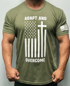 Adapt and Overcome American Patriot T-Shirt