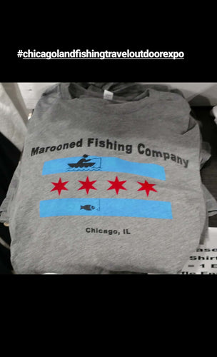 Chicago Fishing Flag