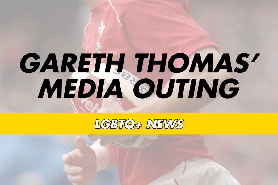 Gareth Thomas' Media Outing