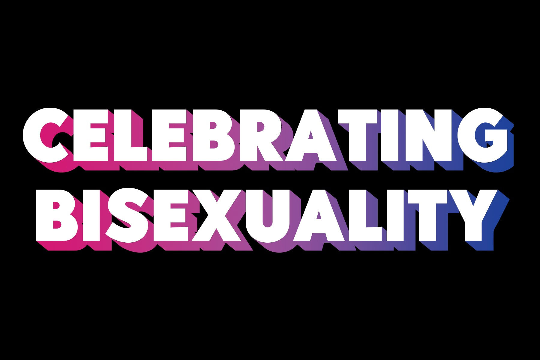 Celebrating Bisexuality | 4 Incredible Bi+ Charities | Rainbow & Co