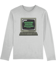 Load image into Gallery viewer, Binaries Are For Computers | Long Sleeve Enby Pride Shirt | Rainbow & Co
