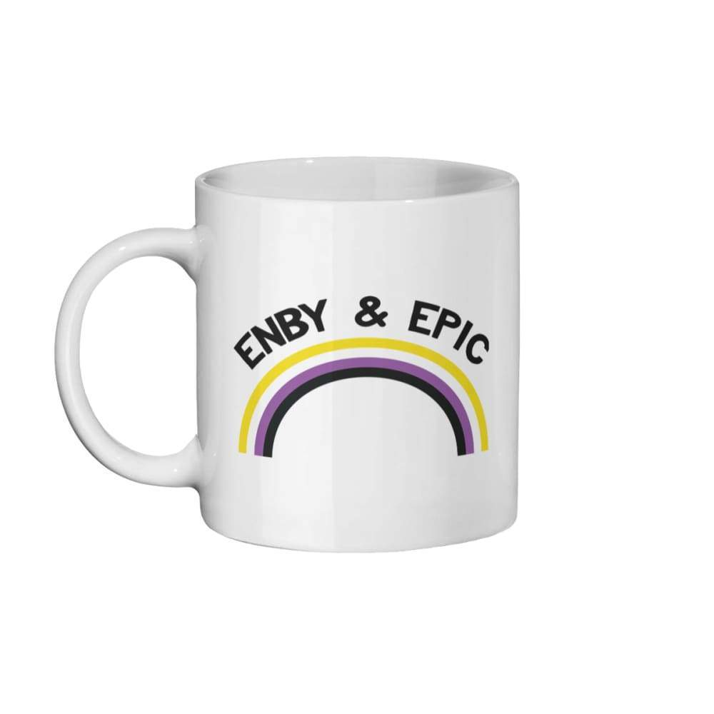 Enby & Epic Coffee Mug | Rainbow & Co