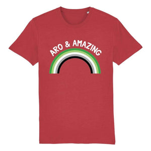 Aro & Amazing T Shirt | Rainbow & Co