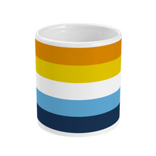 Load image into Gallery viewer, Aroace Flag Mug | Rainbow & Co