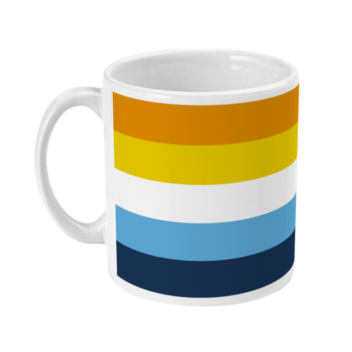 Aroace Flag Coffee Mug | Rainbow & Co