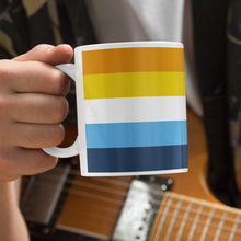 Load image into Gallery viewer, Aroace Pride Flag Mug | Rainbow & Co