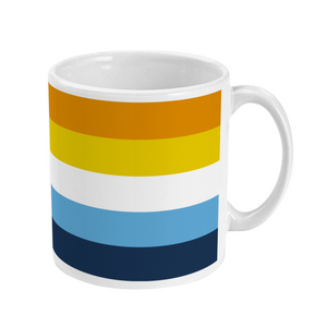 Aroace Mug | Rainbow & Co