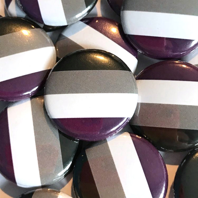 Asexual Pride Badge 25mm