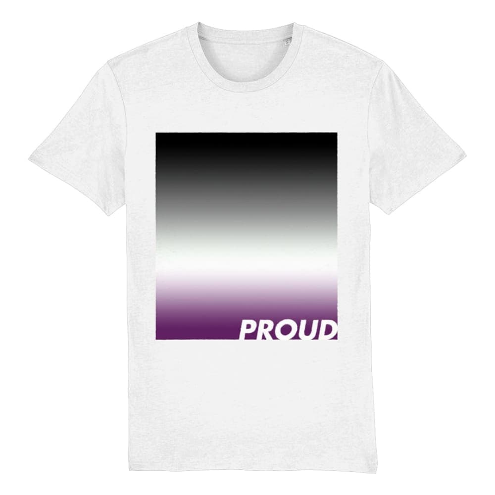 Asexual Pride T Shirt | Proud Asexual Flag Shirt | Rainbow & Co