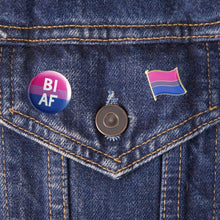 Load image into Gallery viewer, Bisexual Pride Pin | Rainbow & Co
