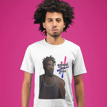 Load image into Gallery viewer, #BisexualMenExist | Men's Bisexual T Shirt | Rainbow & Co