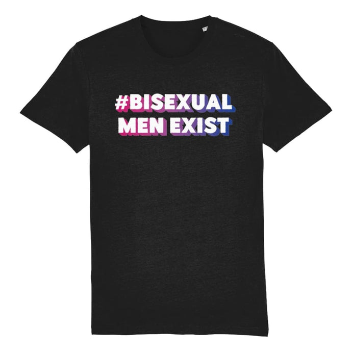 #BisexualMenExist | Bisexual Pride Shirt | Rainbow & Co