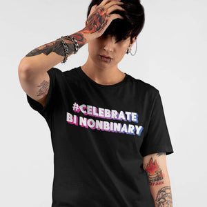 Non Binary Bisexual Pride Shirt | Rainbow & Co