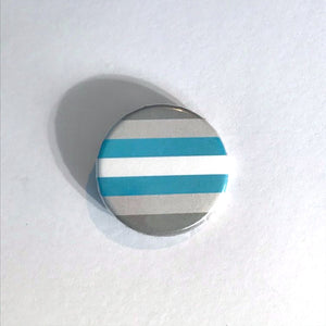 Demiboy Pride Badge | Rainbow & Co