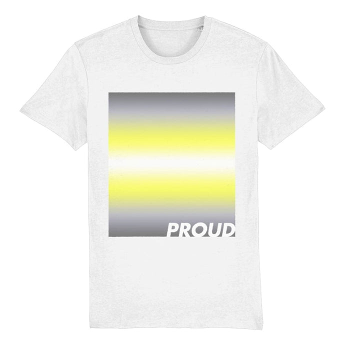 Demigender Pride T Shirt | Demigender Flag Shirt | Rainbow & Co
