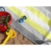 Load image into Gallery viewer, Demigender Flag Beach Towel | Rainbow & Co