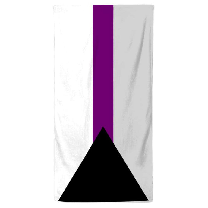 Demisexual Flag Beach Towel | Rainbow & Co