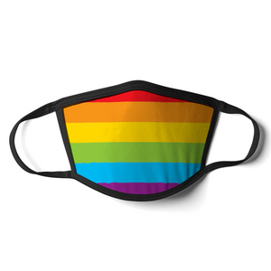 Gay Pride Face Mask | Gay Pride Flag Mask | Rainbow & Co