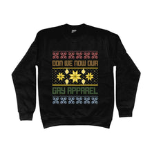 Load image into Gallery viewer, Don We Now Our Gay Apparel Christmas Sweater | Rainbow & Co