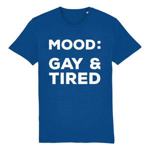 Mood Gay & Tired Shirt | Rainbow & Co