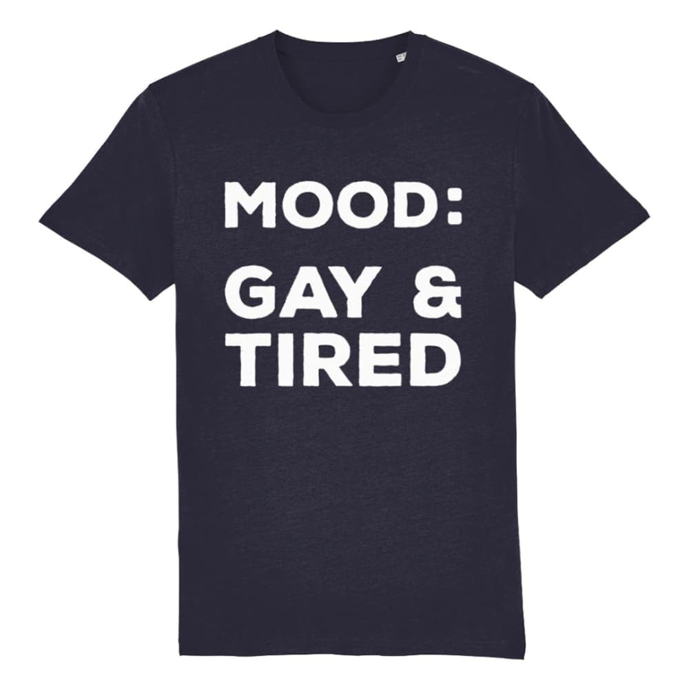Gay & Tired T Shirt | Rainbow & Co