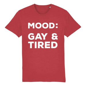 Gay Pride T Shirt | Gay & Tired