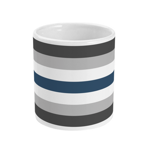 Greygender Flag Mug | Rainbow & Co