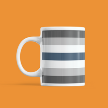 Load image into Gallery viewer, Greygender Pride Mug | Rainbow & Co