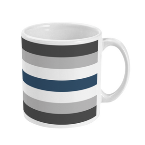 Greygender Mug | Rainbow & Co
