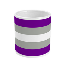 Load image into Gallery viewer, Greysexual Flag Mug | Rainbow & Co