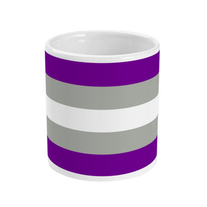 Greysexual Flag Mug | Rainbow & Co