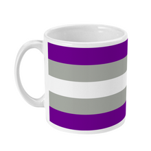 Load image into Gallery viewer, Greysexual Flag Coffee Mug | Rainbow & Co