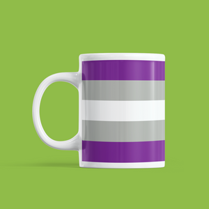 Greysexual Pride Mug | Rainbow & Co