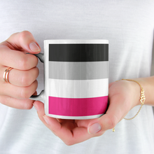 Load image into Gallery viewer, Gynephilia Pride Flag Mug | Rainbow & Co