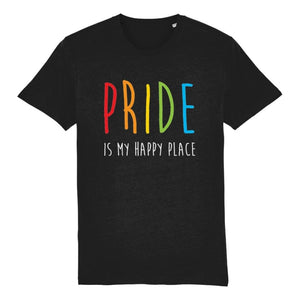 Gay Pride Shirt | Pride is my Happy Place | Rainbow & Co